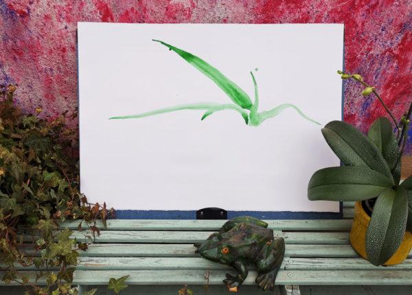 Aloe. Venta online de acuarelas originales